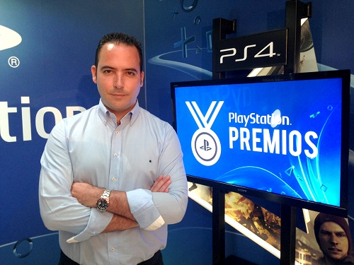 Roberto Yeste - Premios PlayStation